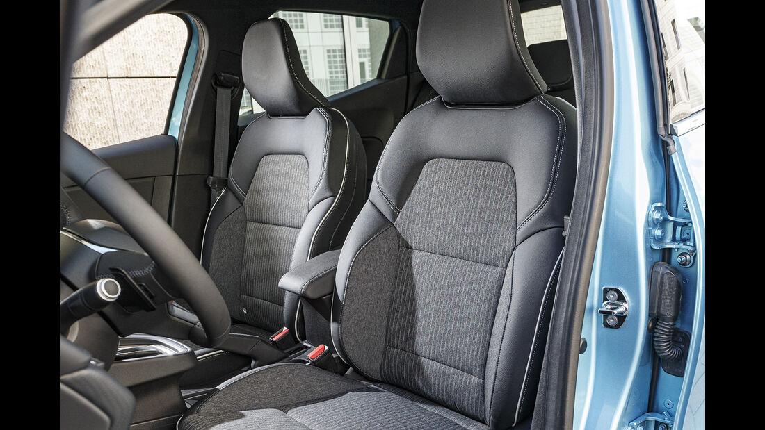 Renault Clio, Sitz