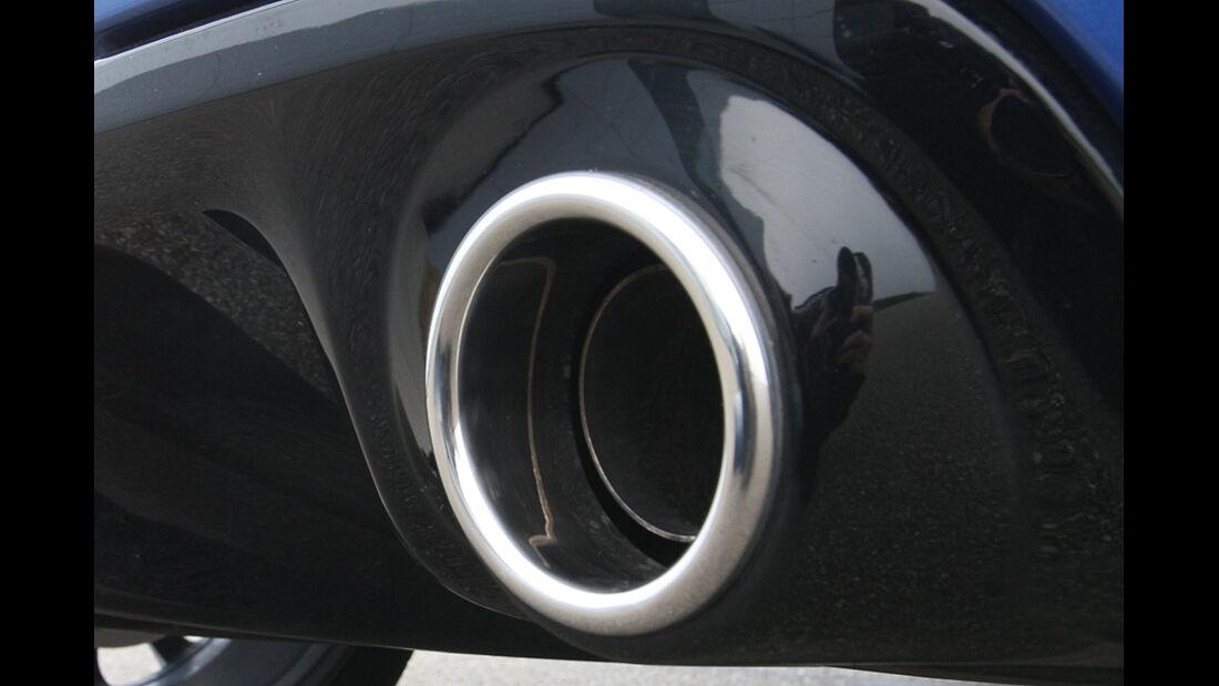 Renault Clio Sport Gordini, Auspuff