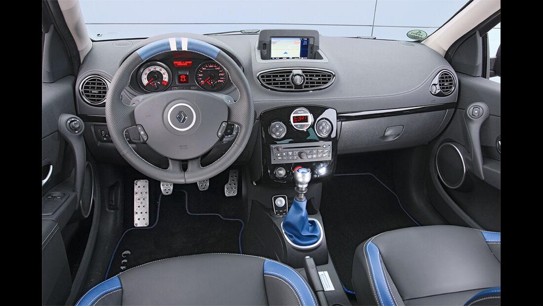 Renault Clio Sport Gordini, Cockpit