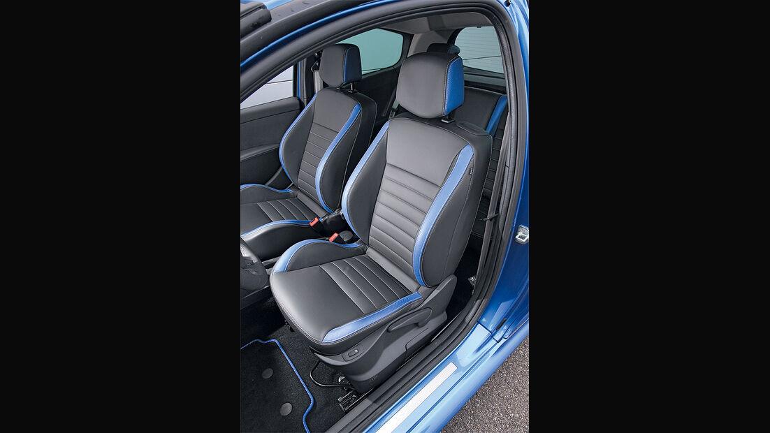 Renault Clio Sport Gordini, Fahrersitz