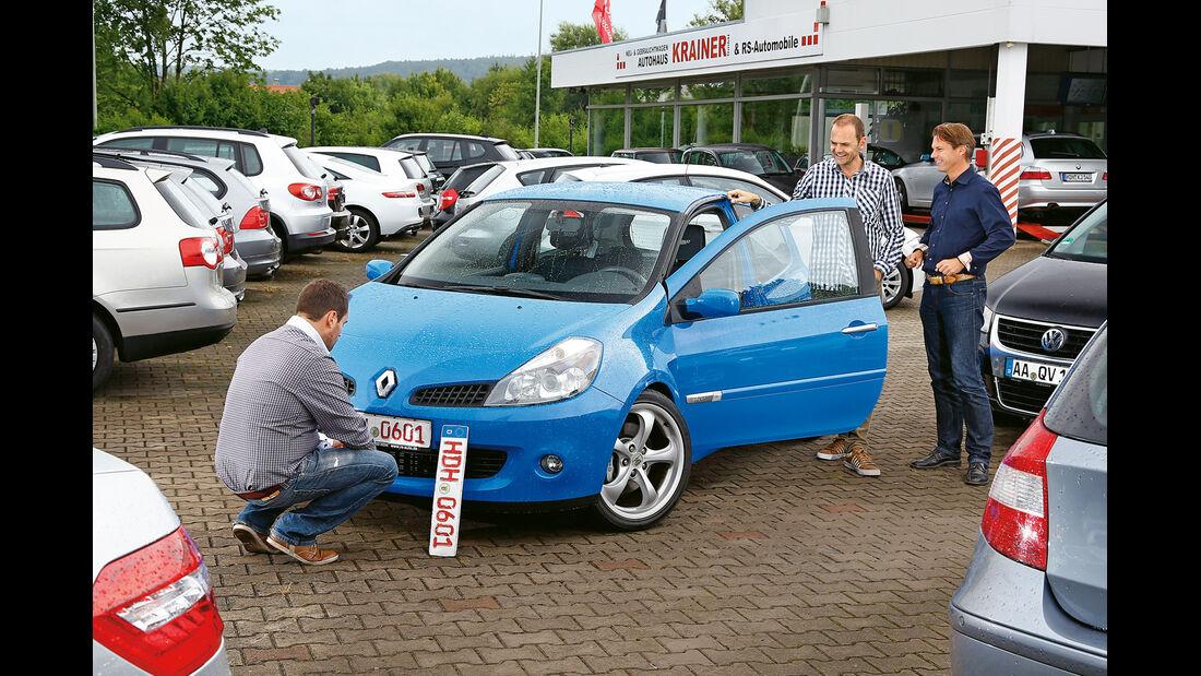 Renault Clio Sport, Händler