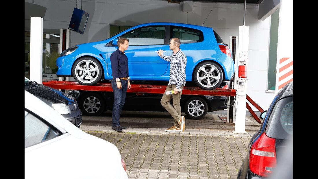 Renault Clio Sport, Hebebühne