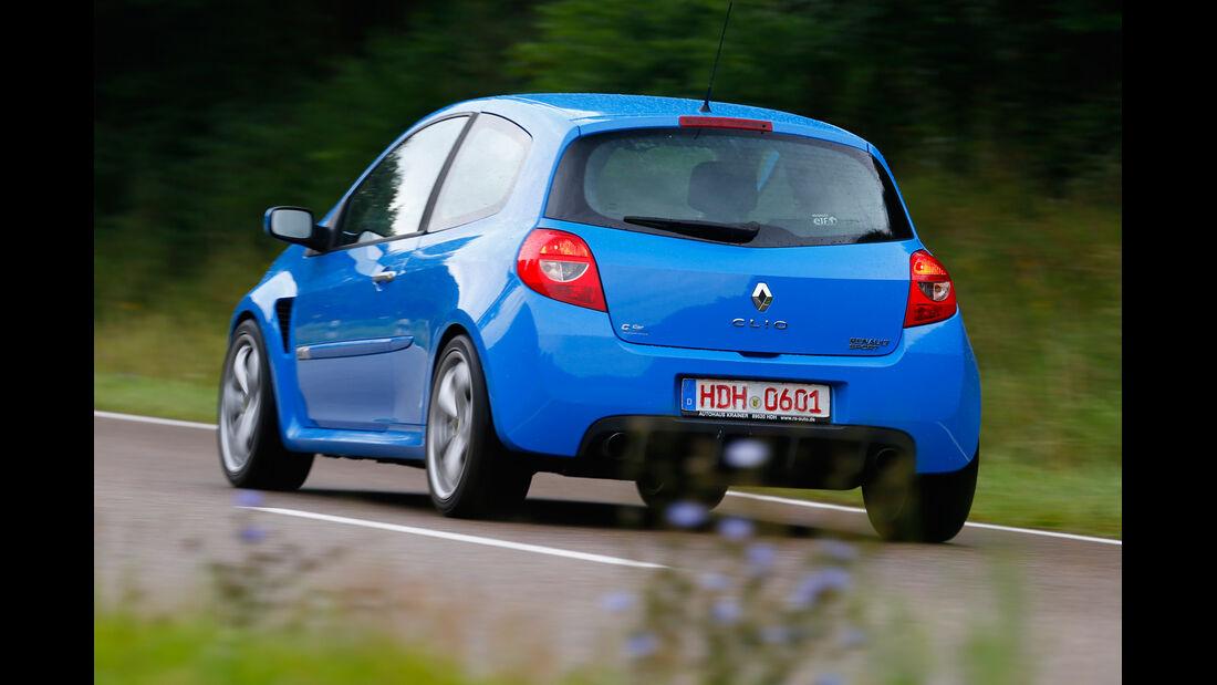 Renault Clio Sport, Heckansicht