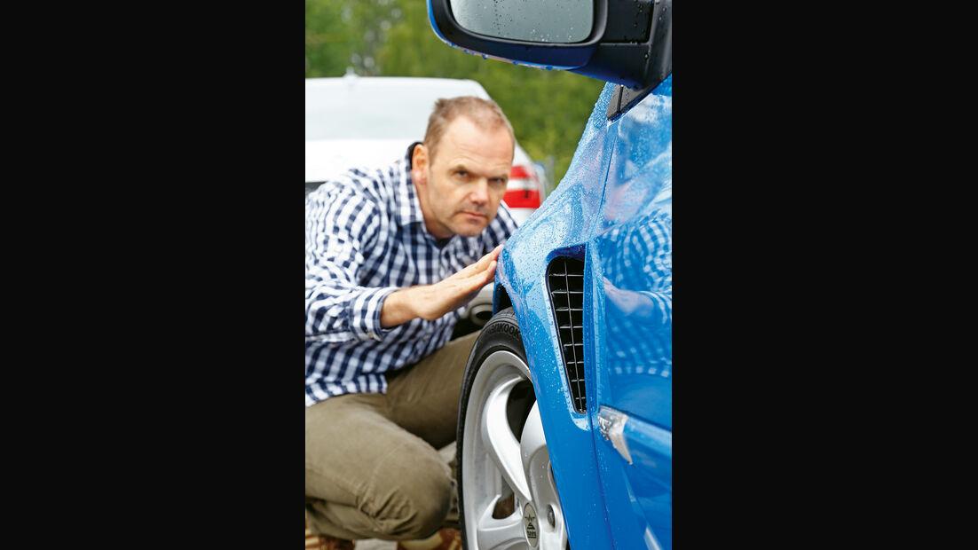 Renault Clio Sport, Seitenführung
