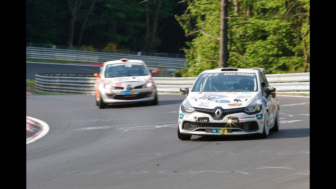 Renault Clio - Startnummer #114 - 24h-Rennen Nürburgring 2017 - Nordschleife - Sonntag - 28.5.2017