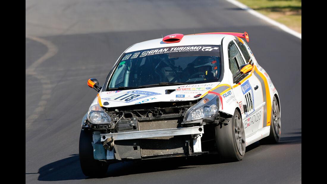 Renault Clio - Startnummer #118 - 24h-Rennen Nürburgring 2017 - Nordschleife - Samstag - 27.5.2017