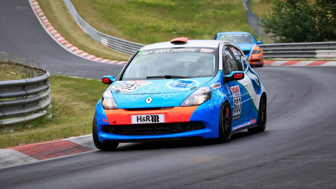 Renault Clio - Startnummer #603 - Scuderia Colonia e.V. im ADAC - H2 - NLS 2020 - Langstreckenmeisterschaft - Nürburgring - Nordschleife