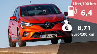 Renault Clio TCe 100 Kosten Realverbrauch
