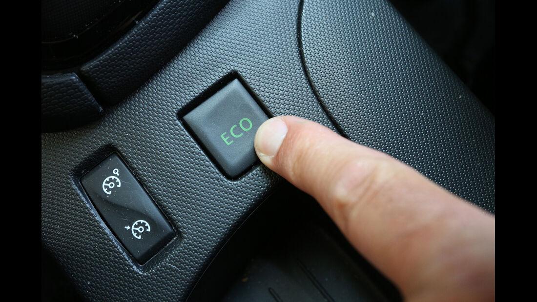 Renault Clio TCe 90, Bedienelement