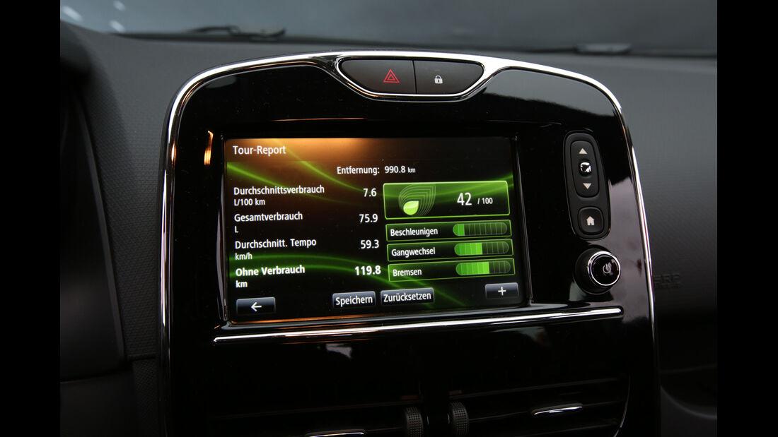 Renault Clio TCe 90 Energy, Bildschirm, Infotainment