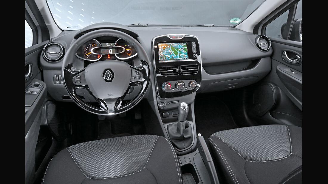Renault Clio TCe 90 Energy, Cockpit