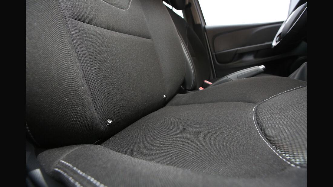 Renault Clio TCe 90 Energy, Fondsitz, Detail
