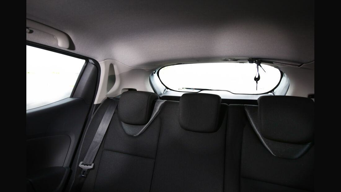 Renault Clio TCe 90 Energy, Fondsitz, Heckfenster