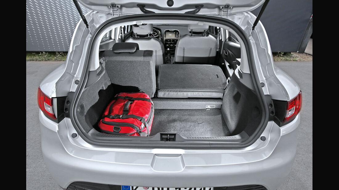 Renault Clio TCe 90 Energy, Kofferraum