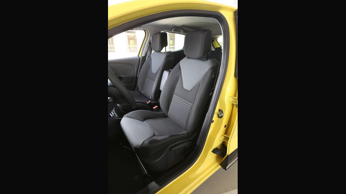 Renault Clio TCe 90, Fahrersitz
