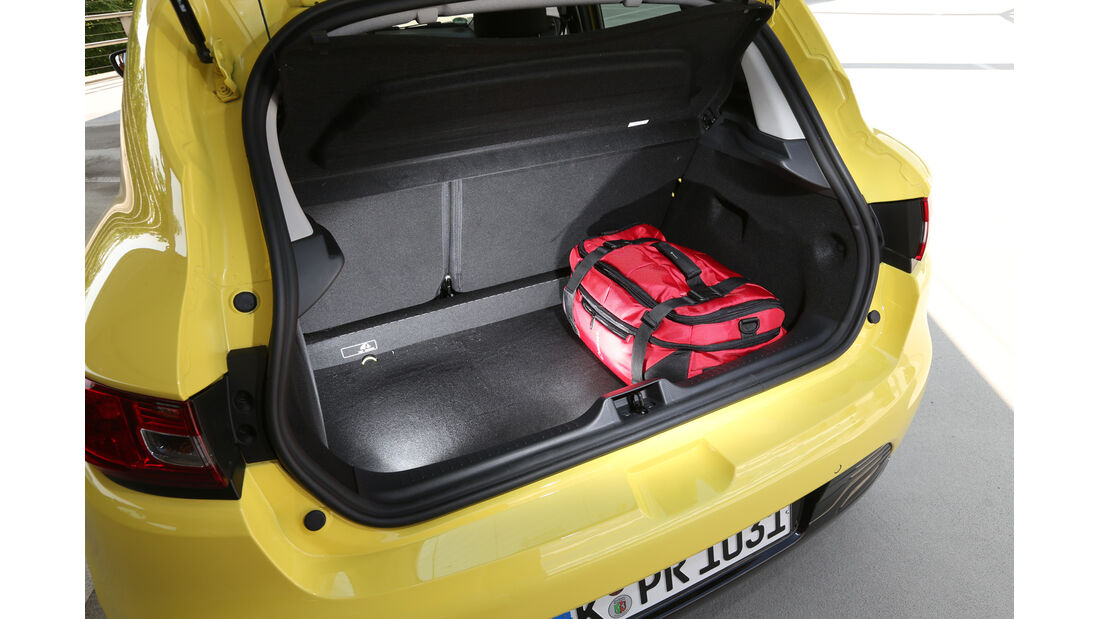 Renault Clio TCe 90, Kofferraum