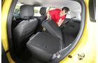 Renault Clio TCe 90, Rücksitz, Umklappen