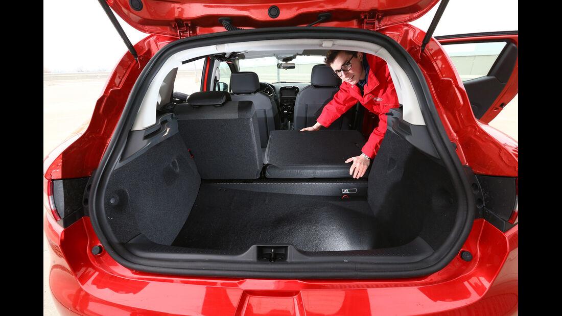 Renault Clio Tce 90, Kofferraum, Sitz Umklappen