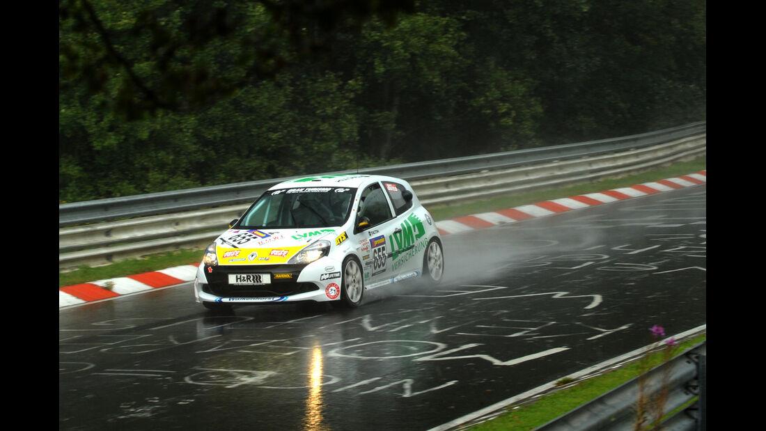 Renault Clio, VLN, Rennszene, Regen