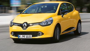 Renault Clio dC 90 Energy, Frontansicht