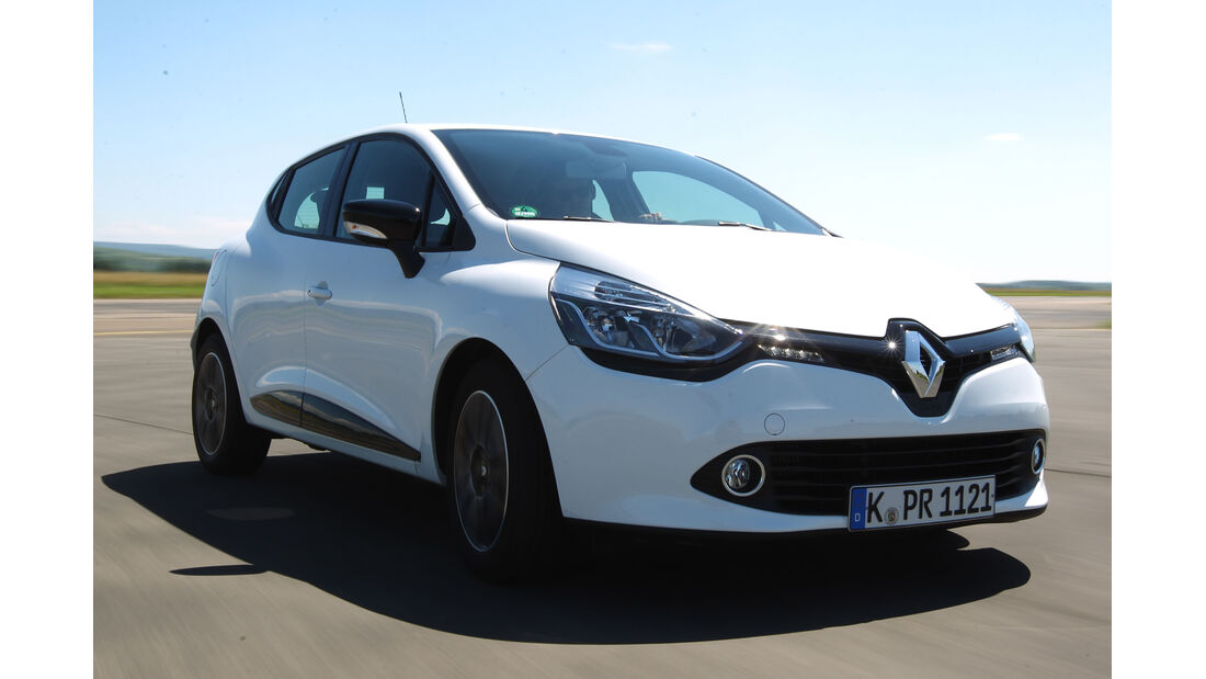 Renault Clio dCi 90 Luxe, Frontansicht
