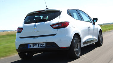 Renault Clio dCi 90 Luxe, Heckansicht