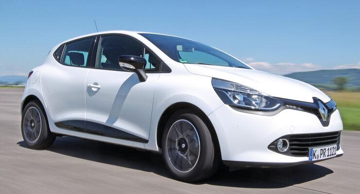 Renault Clio dCi 90 Luxe, Seitenansicht