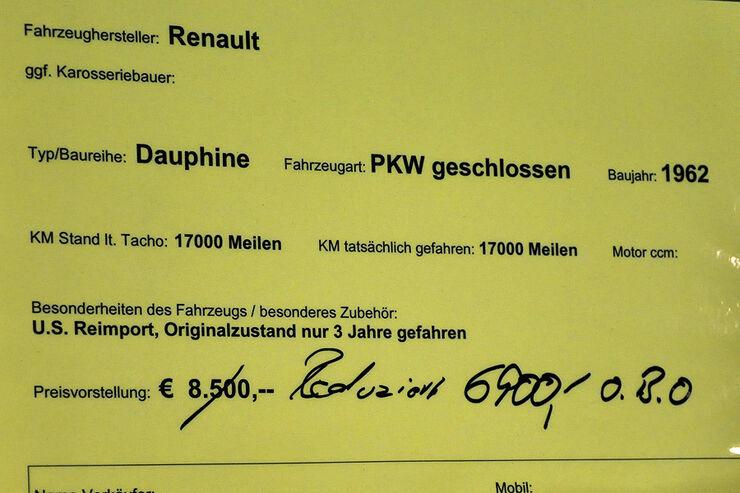 Renault Dauphine - Retro Classics 2010