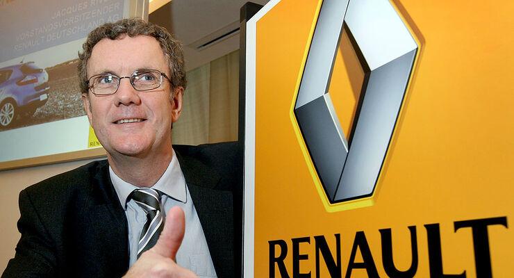 Renault-Deutschland-Chef Jacques Rivoal