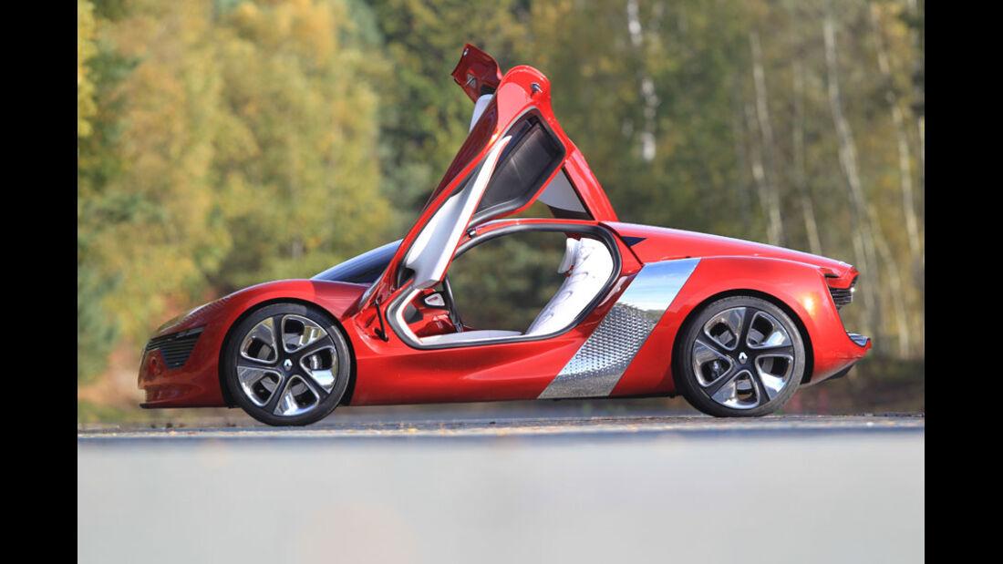 Renault Dezir, Flügeltüren