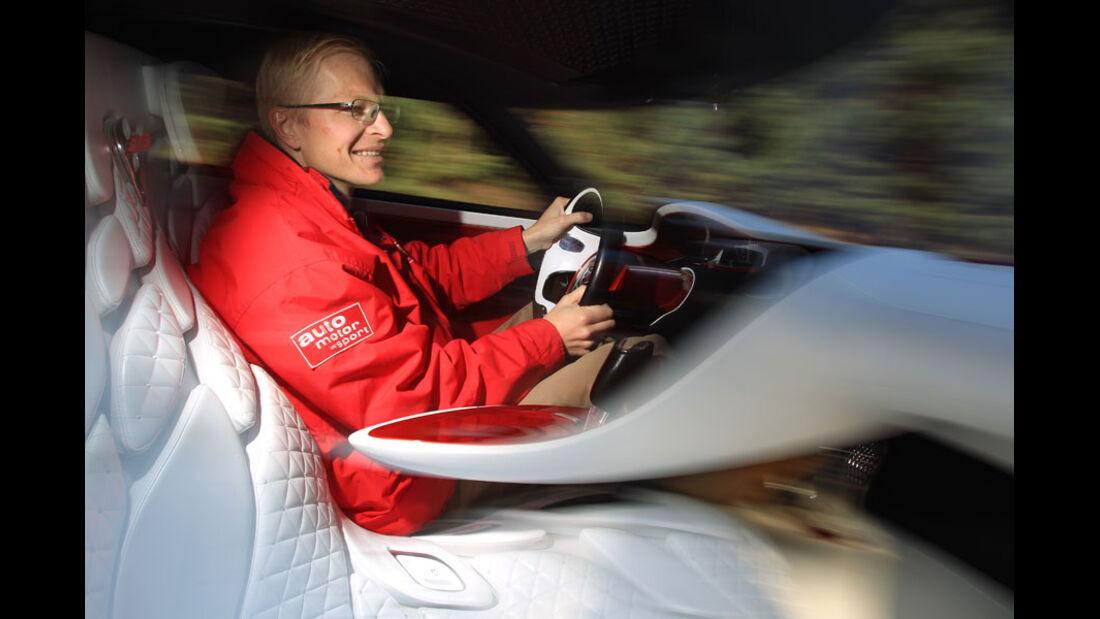 Renault Dezir, Innenraum, Cockpit