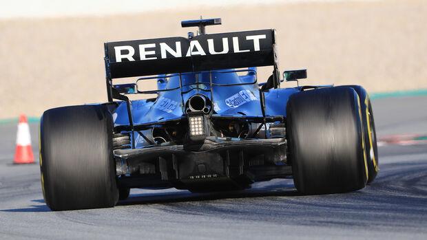 Renault - Diffusor - F1-Test - Barcelona - 2020