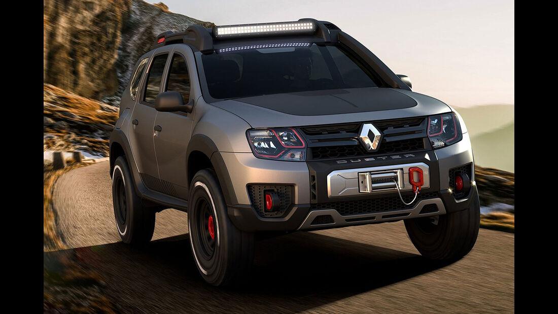 Renault Duster Extreme Sao Paulo Auto Show 2016