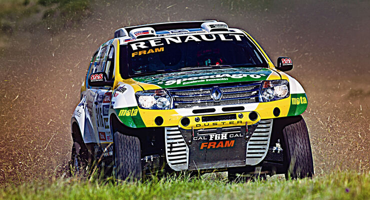 Renault Duster Team on the 2015 Dakar Rally