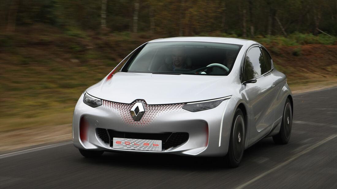 Renault Eolab, Fahrbericht