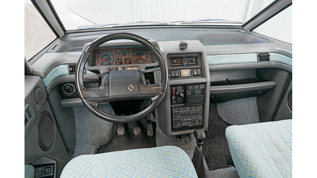 Renault Espace 2000 TSE,  Cockpit