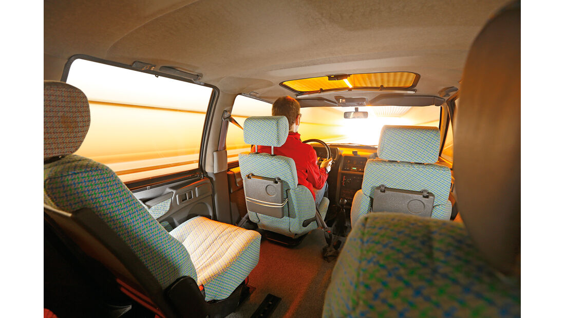 Renault Espace 2000 TSE, Innenraum, Interieur