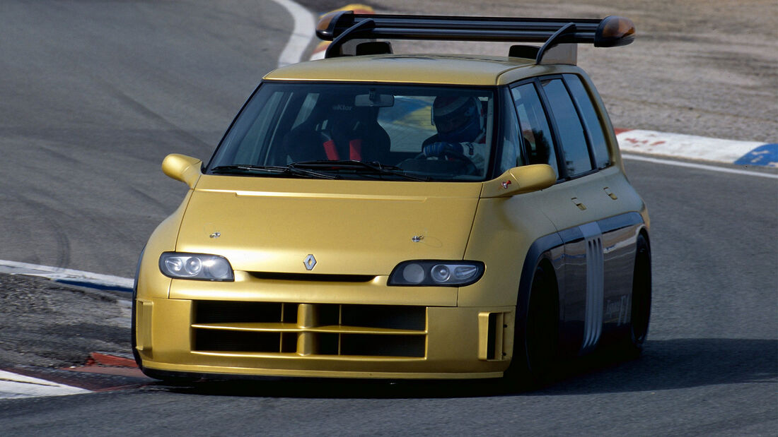 Renault Espace F1 Matra Racing Van