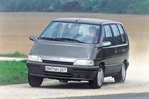 Renault Espace II, Frontansicht