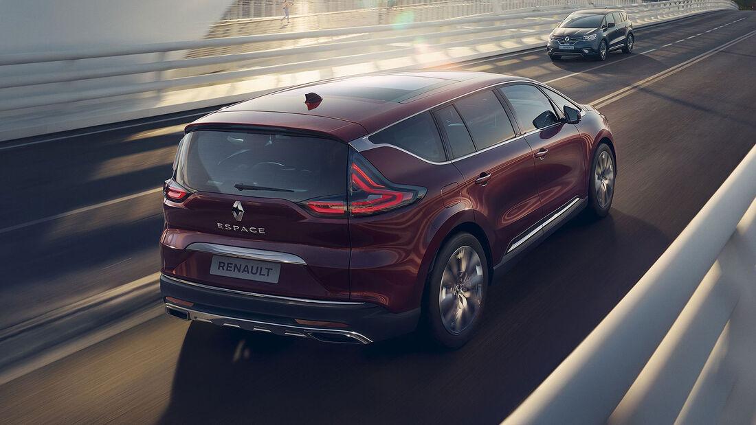 Renault Espace Modellpflege 2020