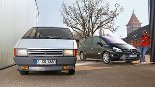 Renault Espace, Modellvarianten, Frontansicht