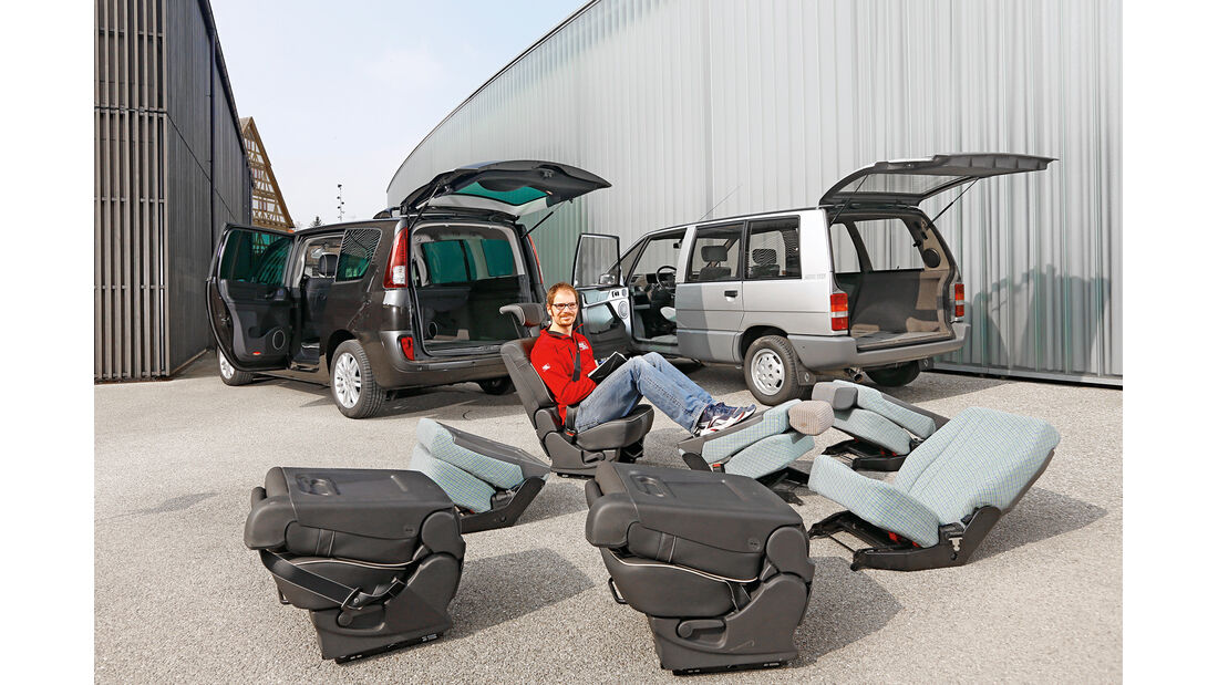 Renault Espace, Modellvarianten, Heckklappe