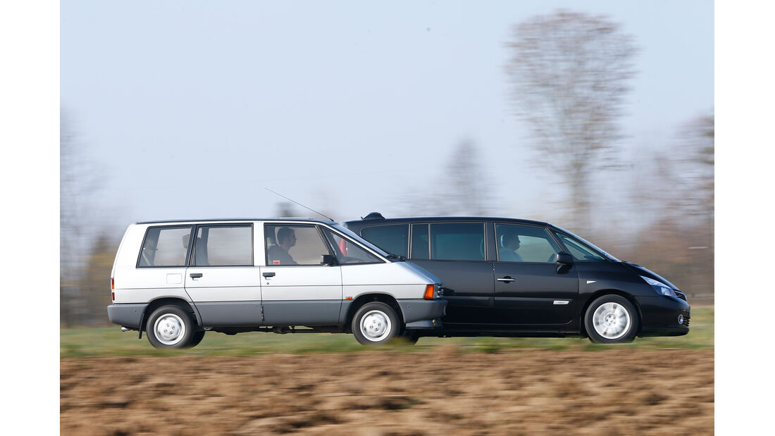 Renault Espace, Modellvarianten, Seitenansicht