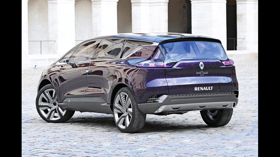 Renault Espace V, Heckansicht