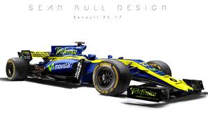 Renault - F1-Designs 2017 - Sean Bull - Formel 1
