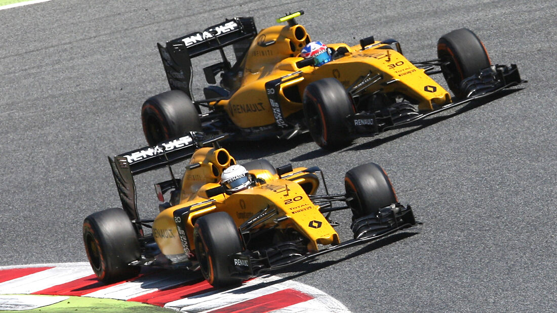 Renault F1 - Formel 1 - GP Spanien 2016