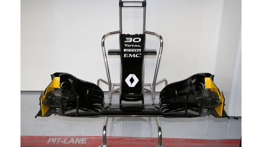 Renault F1 - Formel 1-Test - Barcelona - 23. Februar 2016