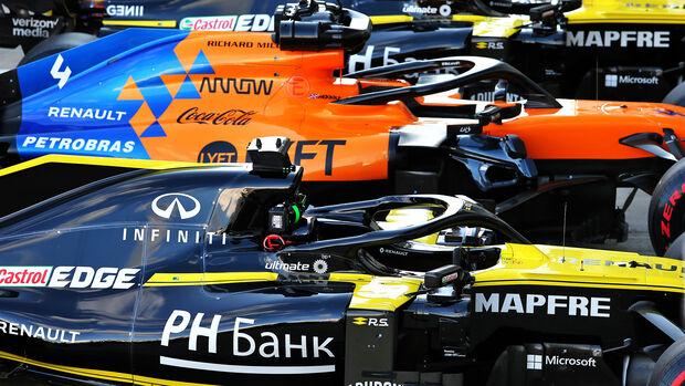 Renault F1 Team & McLaren - F1 2019