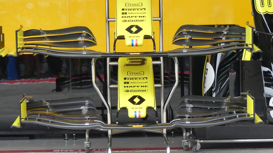 Renault - F1-Technik 2019 - Frontflügel