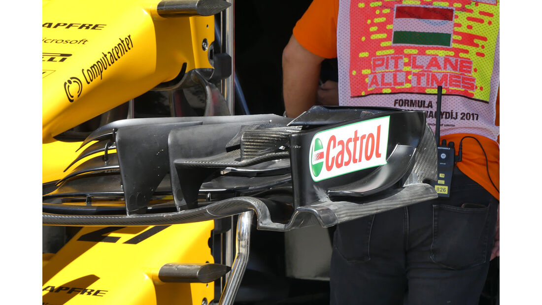 Renault - F1-Technik - GP Ungarn 2017 - Formel 1